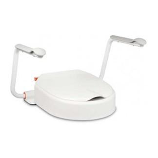 toalettsitsförhöjare med armstöd