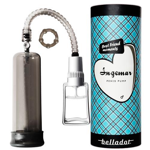 penispump med cylinderförpackning