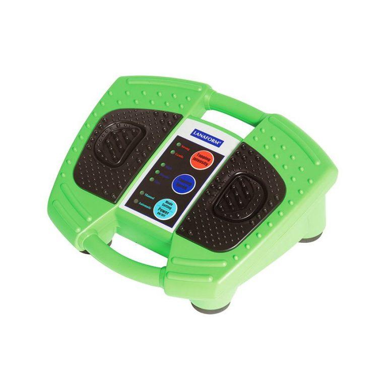Fotmassage - grön svart