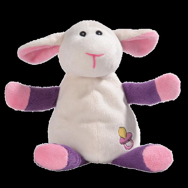 djur - får - vit - rosa - lila