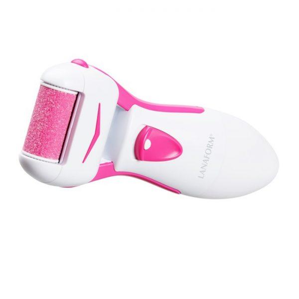 elektrisk fotfil - vit - rosa