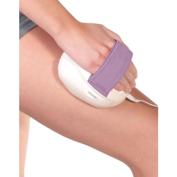 Massage - hand masserar låret