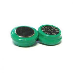 2 st batterier - grönt hölje