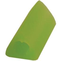Triangelformat pennstöd, grönt